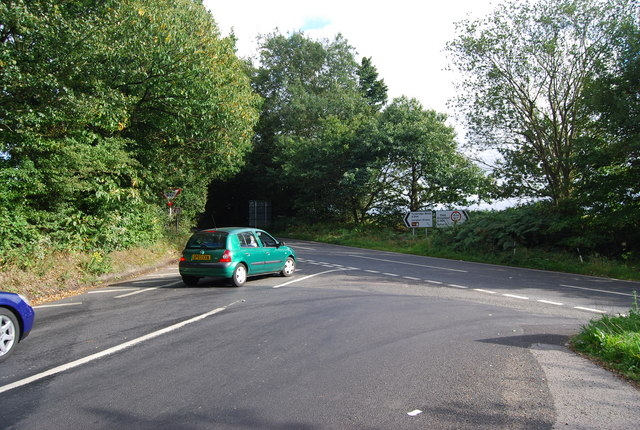 Fordcombe Rd (B2188), Ashurst Rd (A264) junction