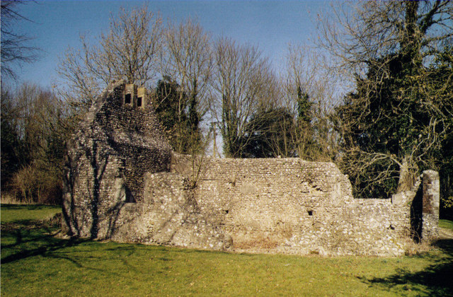 Ruins of the Chapel of St Nicholas, East Meon