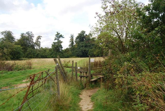 Stile on the Tunbridge Wells Circular Path