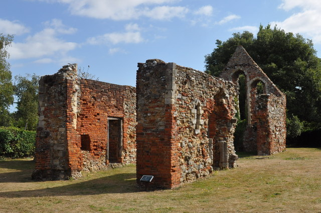 St Giles Ruins