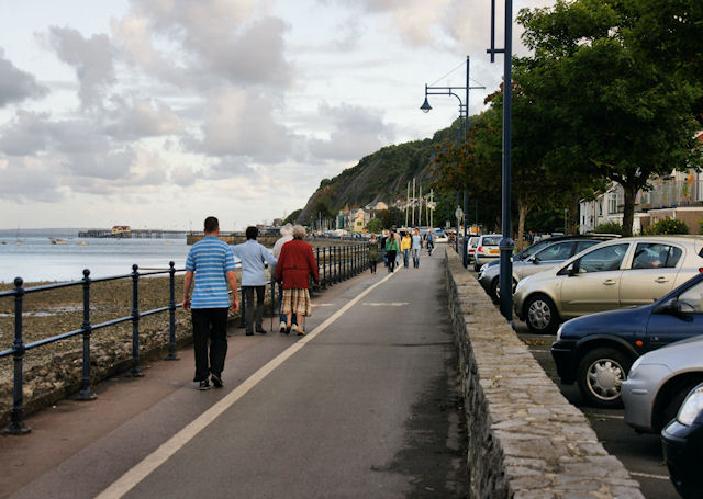 Footpath and Cycleway, Mumbles