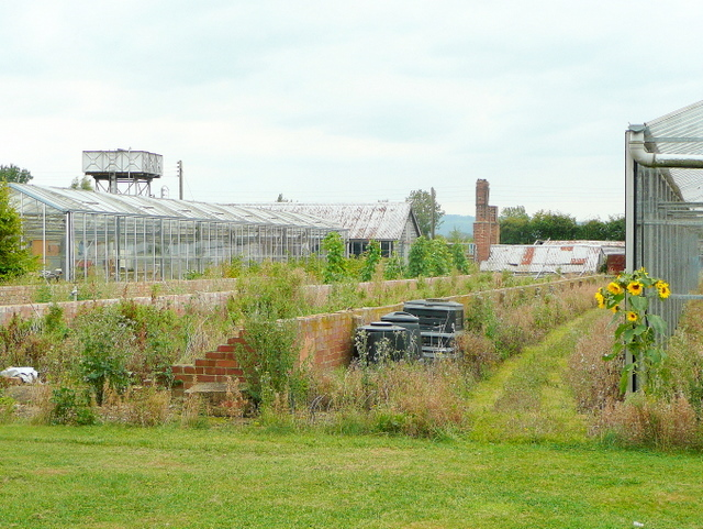 Redundant nursery in Sedgeberrow