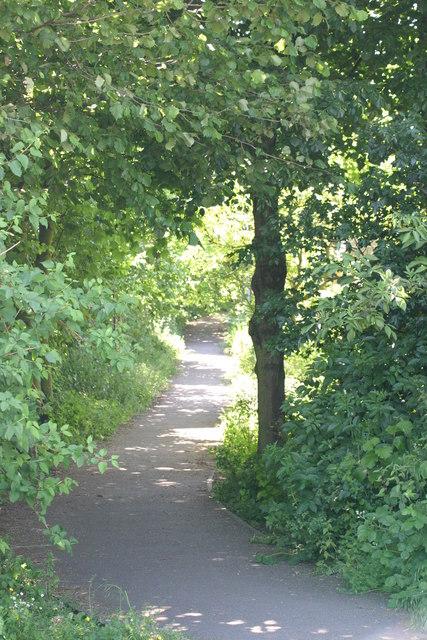Pathway next to Frankie & Benny's  (2)