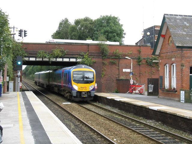 Liverpool Express At Urmston