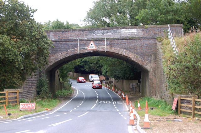 Disused railway bridge at Cawston (2)