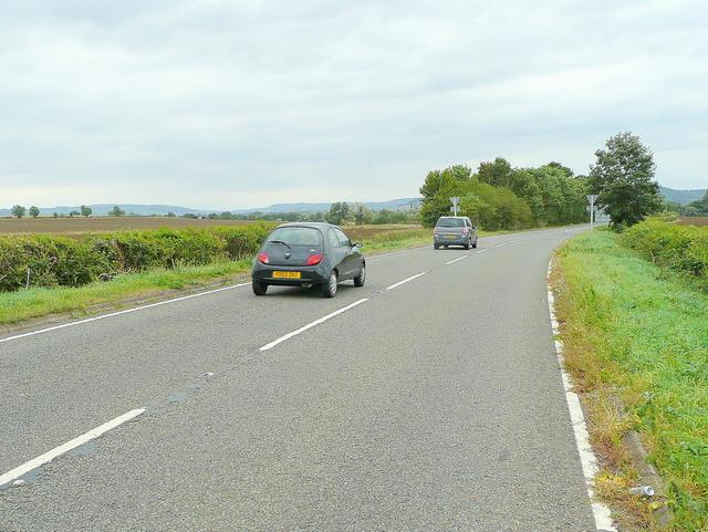 B4078 heading towards Sedgeberrow