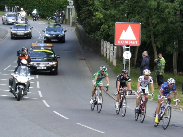 2009 Tour of Britain in Cheddleton