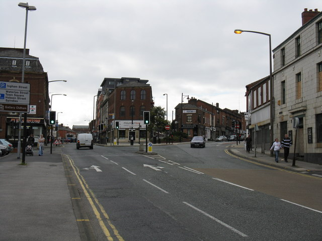 Oldham - Junction Of Union & Yorkshire Streets
