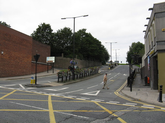 Oldham - St Mary's Way From Yorkshire Street