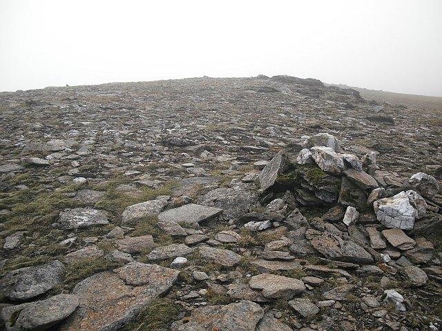 Northeast top, Beinn a' Chreachain