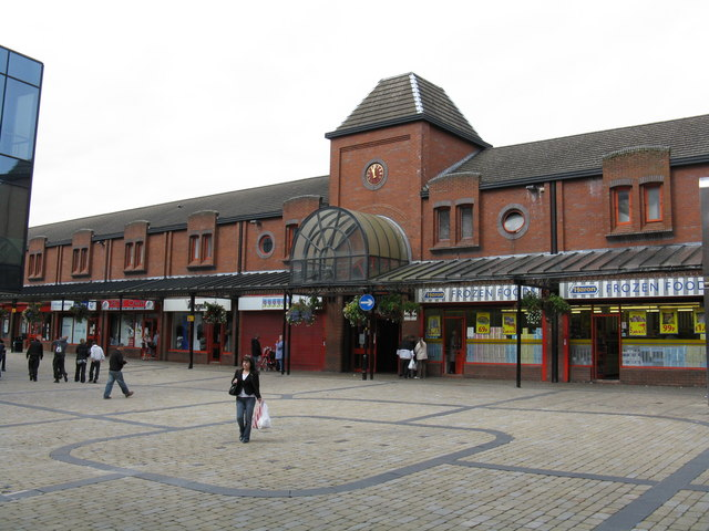 Oldham - Tommyfield Market's Southern Entrance