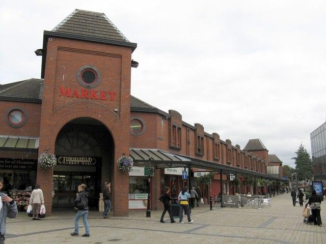 Oldham - Tommyfield Market & Albion Street