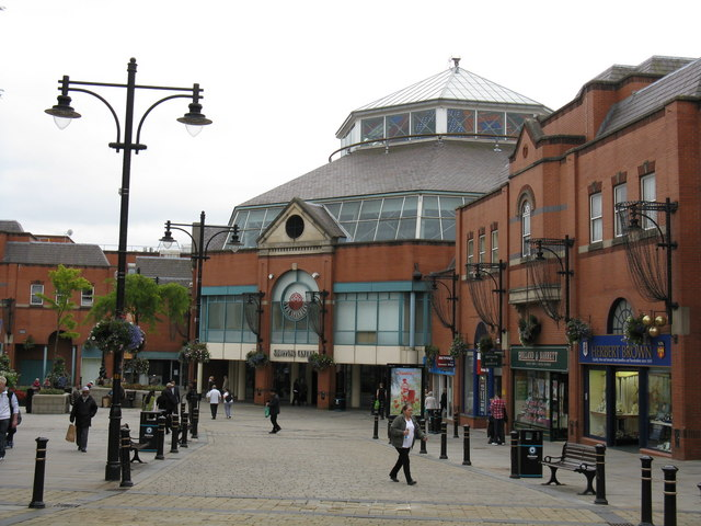 Oldham - The Spindles Shopping Centre