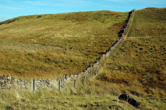 Dry-Stane Dyke On Craig Hill