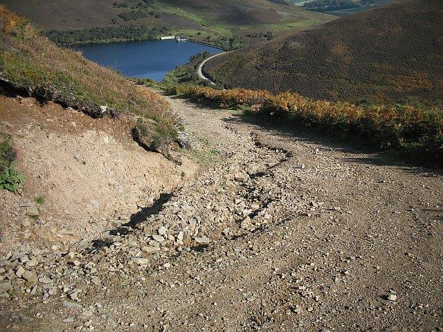 Gullied track, Trindle Bonny
