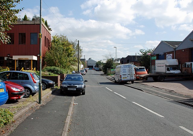 Vine Street, Harts Hill