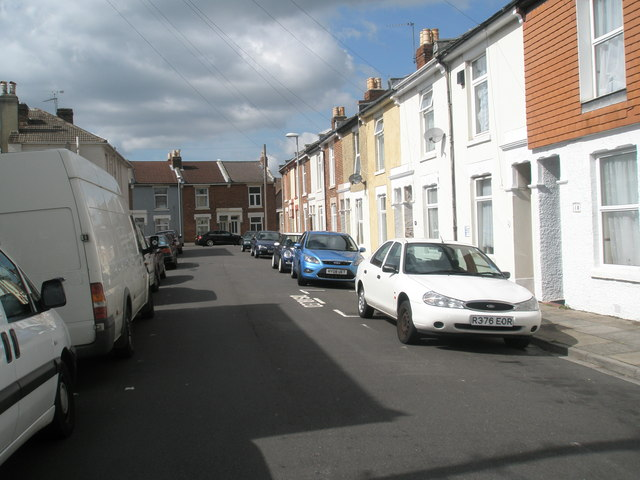 Looking westwards along Collis Road