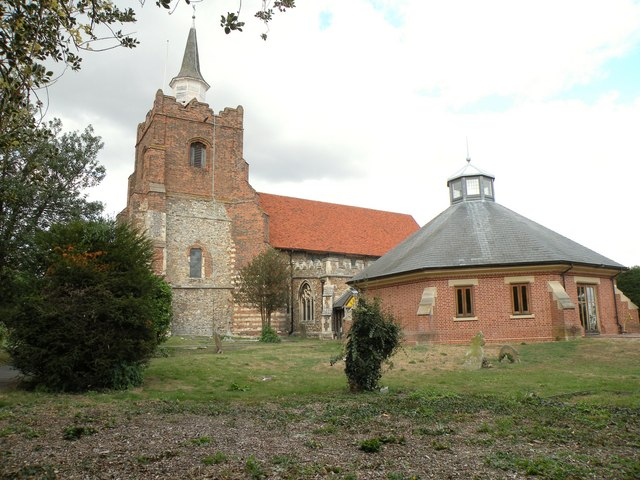 St. Mary's church in Maldon