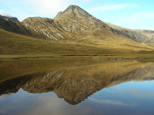 Cona Mheall from Loch Coire Lair