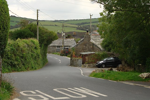 The Road Through Trewarmett