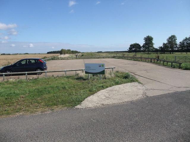Kirton Marsh car park