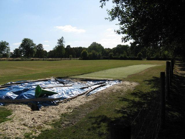 Playing fields at Farlington School