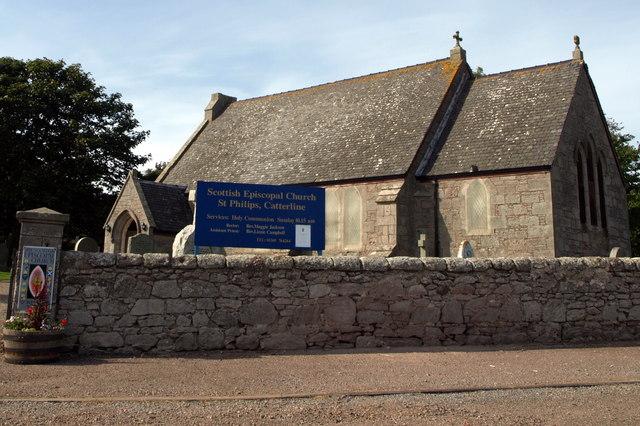 View of Scottish Episcopal Church, St. Philips, Catterline