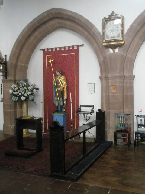 Devotional area within St Alban's, Copnor