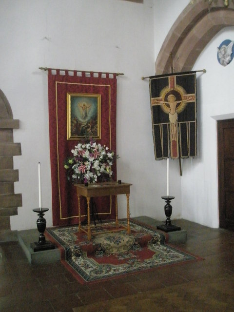 Banners within St Alban's, Copnor (1)