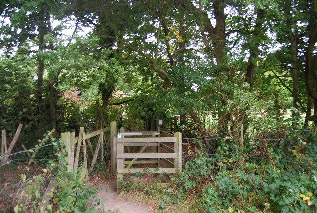 Kissing Gate on the Tunbridge Wells Circular Path, near Shirley Hall