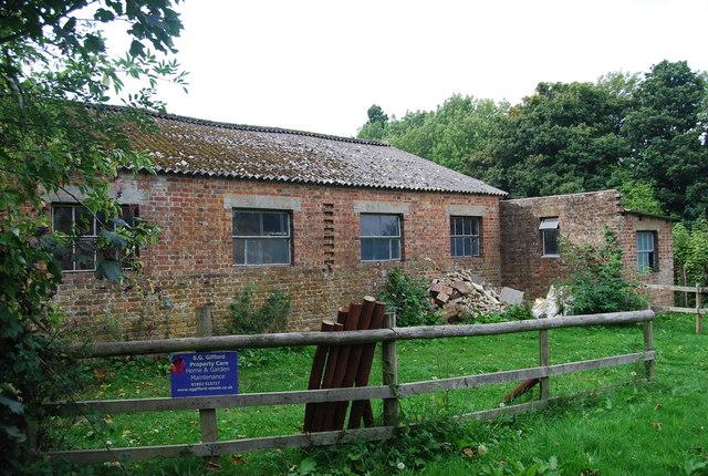 Outbuilding, Shirley Hall