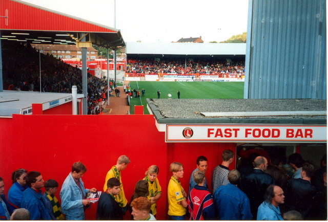 Charlton Athletic - Away end
