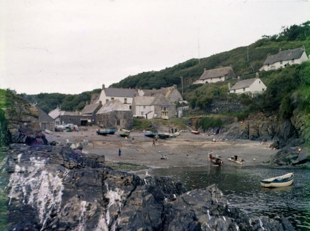 Cadgwith Cove - 1962