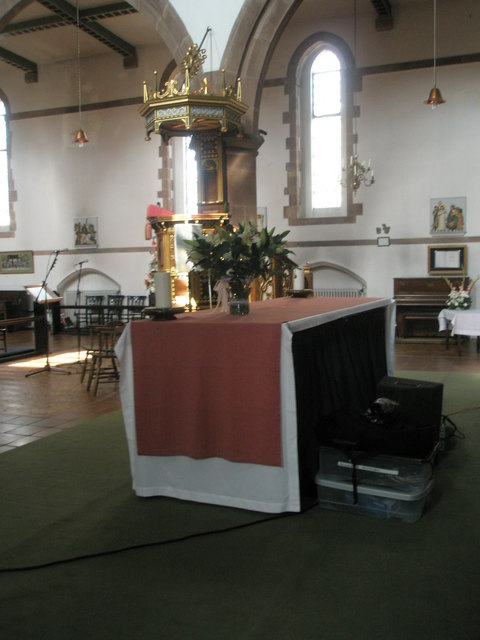 The Lord's Table at St Alban's, Copnor