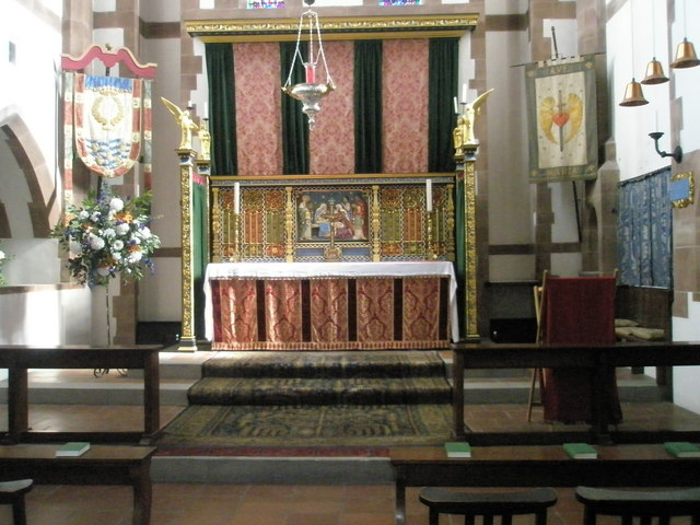 The main altar at St Albans, Copnor