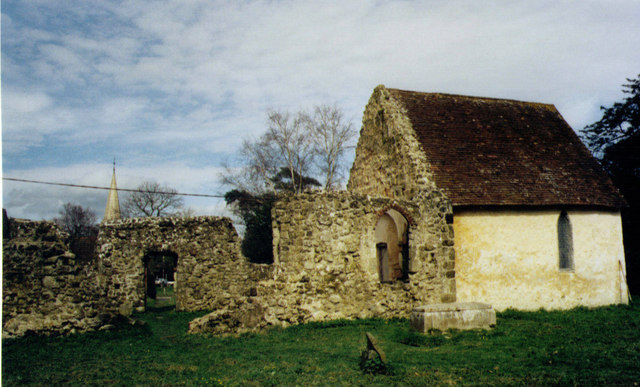 Ruin of Old Church of St John