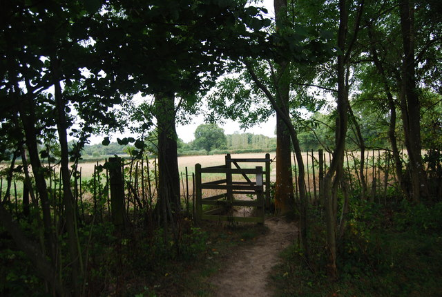Kissing Gate on the Tunbridge Wells Circular Path, near Shirley Hall