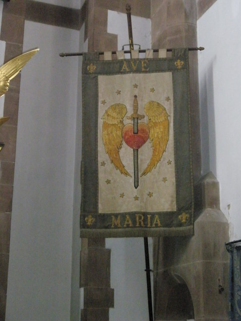 Banners within St Alban's, Copnor (2)