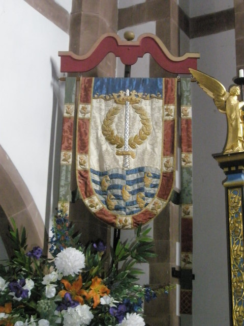 Banners within St Alban's, Copnor (3)