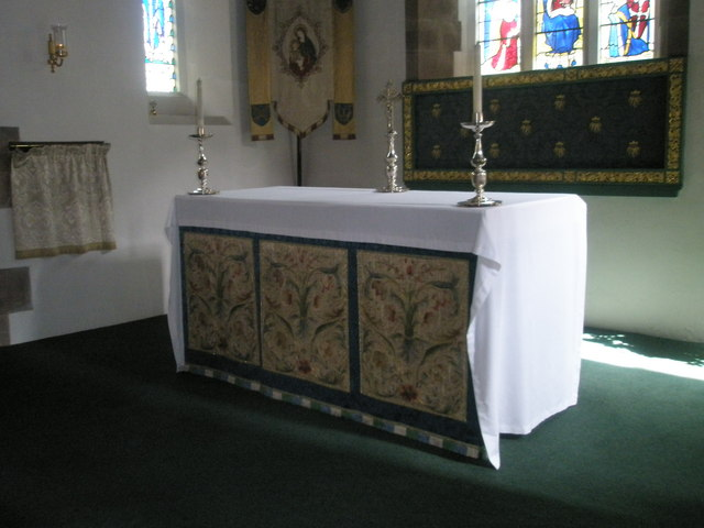 Side altar at St Alban's, Copnor