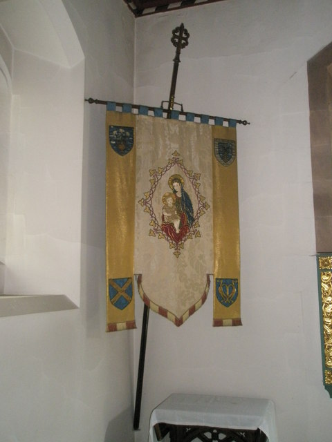 Banners within St Alban's, Copnor (4)