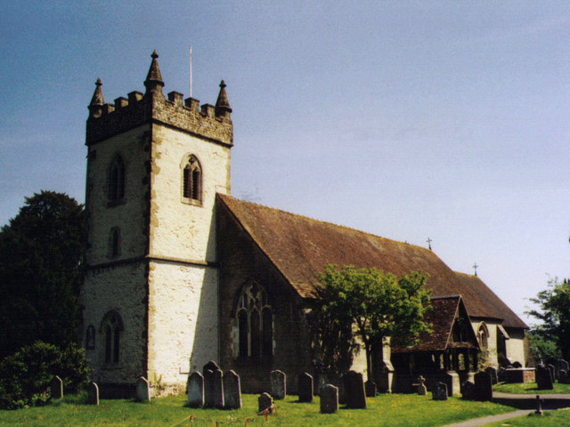 All Saints, Headley