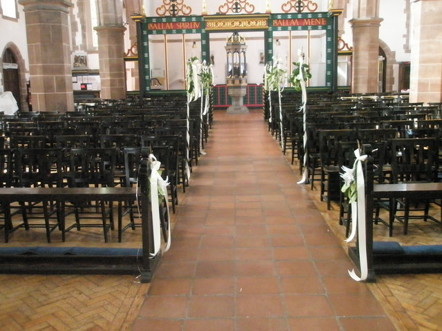 The aisle at St Alban's, Copnor