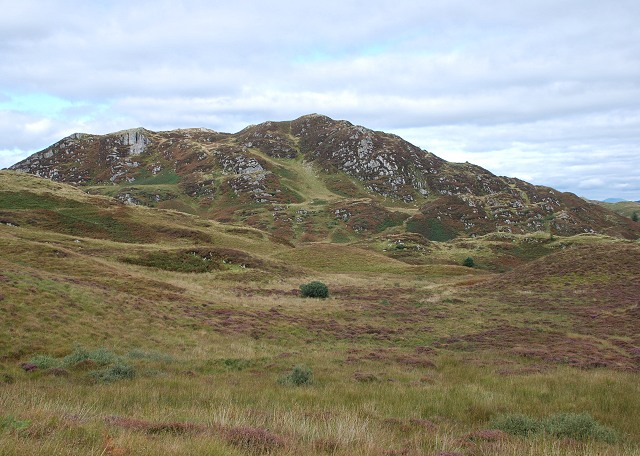 Dun Dubh from the south-west