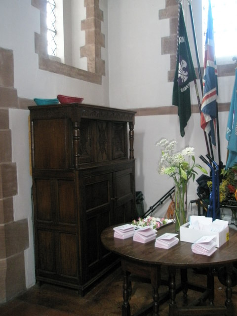 Ancient furniture within St Alban's, Copnor
