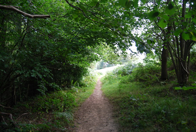 Tunbridge Wells Circular Path - exiting Toll Wood