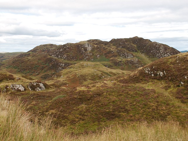 Moorland north-east of Dun Chonallaich