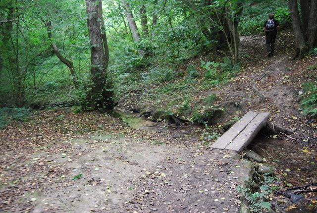 Small footbridge in Toll Wood