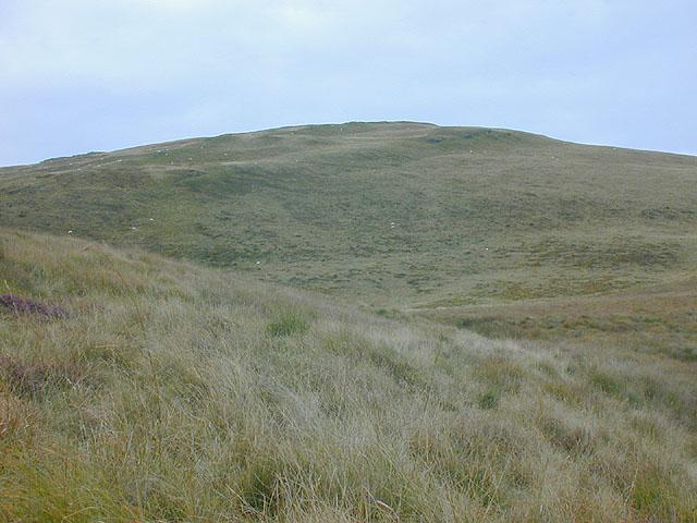 Disgwylfa Fawr from the south