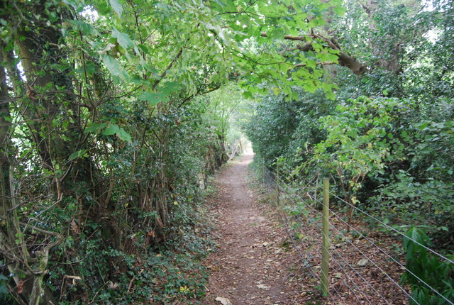 Tunbridge Wells Circular Path - east of Bullingstone Lane